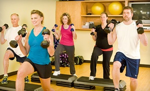 Energy Center Fitness Club: 10 or 20 Group Classes at Energy Center Fitness Club (Up to 61% Off)