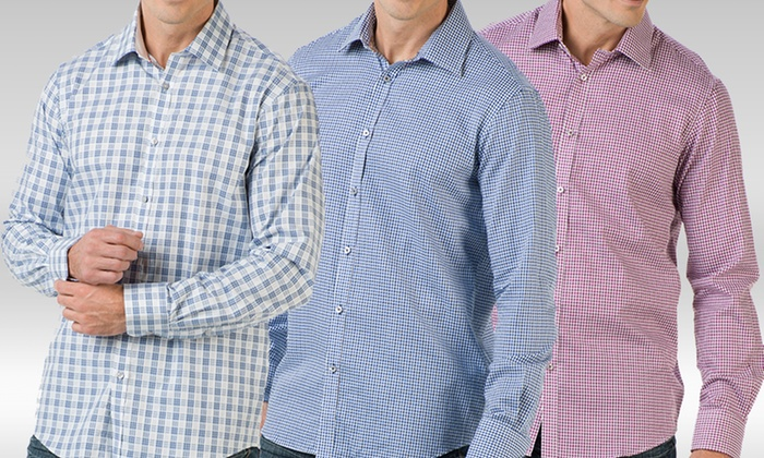 Report Collection Men's Dress Shirts: Report Collection Men's Dress Shirts. Multiple Styles Available.