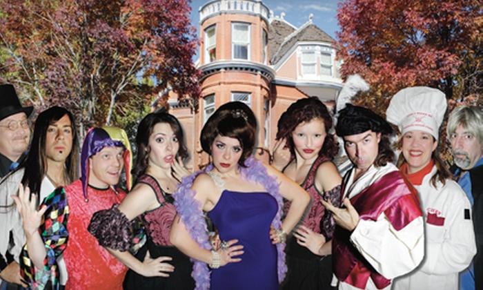 Lumber Baron Inn & Gardens - Denver: $29 for VIP Admission to Murder-Mystery Dinner at Lumber Baron Inn & Gardens (Up to $60 Value)