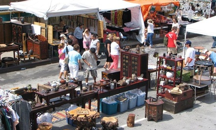 Two-Day Admission for Two or Four to Waterloo Village Antiques Fair on June 6-7 (Up to 53% Off)