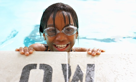 Four or Eight Private Children's Swimming Lessons at Aquaria Swim School (Up to 65% Off)