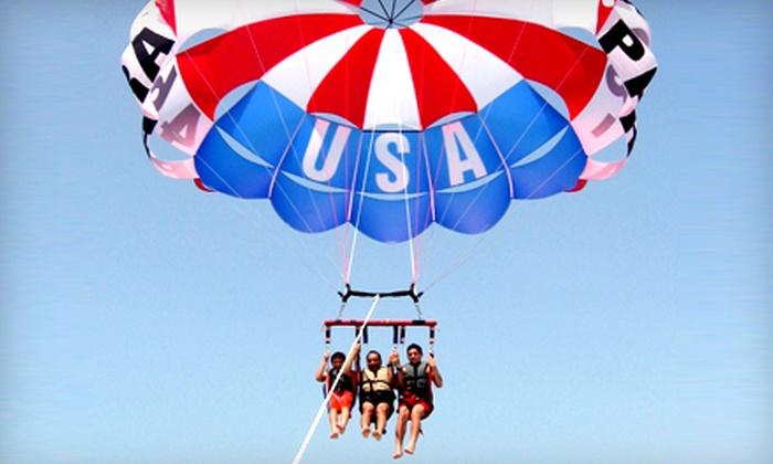 Lake Ozark Parasail - Bridgeport Marina: $80 for a Tandem Parasail Ride for Two from Lake Ozark Parasail ($160 Value)