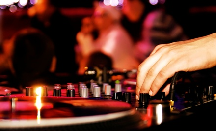 Three or Six Hours of DJ Services from DJ Kyle Colon (Up to 61% Off)