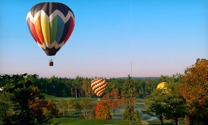 A&A Balloon Rides, LLC - Salem: Hot Air Balloon Ride for Two or Four with Picnic and Champagne from A&A Balloon Rides, LLC (40% Off)