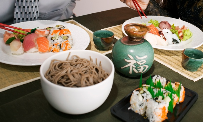 Edamame Japanese Restaurant - Watertown: $18 for $30 Worth of Sushi, Noodle Dishes, and Hibachi Food at Edamame Japanese Restaurant
