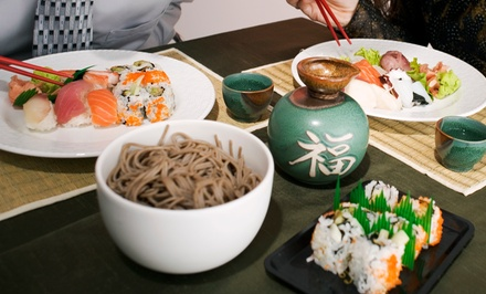 $18 for $30 Worth of Sushi, Noodle Dishes, and Hibachi Food at Edamame Japanese Restaurant