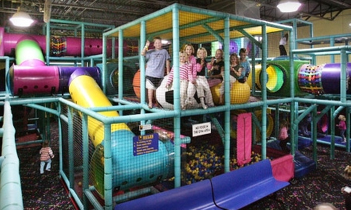 One Stop Fun - Westford: 5 or 10 All-Day Children's Fun and Fitness Passes at One Stop Fun in Westford (Up to 60% Off)
