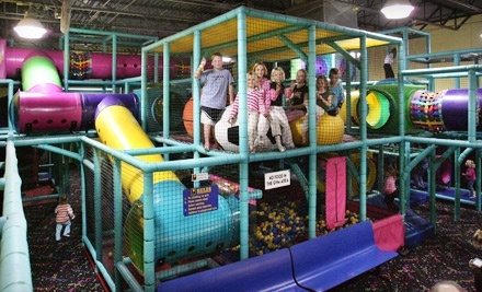 5 All-Day Passes to the Indoor Playground - One Stop Fun in Westford