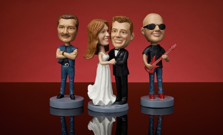 Custom Bobblehead or Bobblehead Couple from AllBobbleheads.com (Up to 46% Off). Shipping Included.