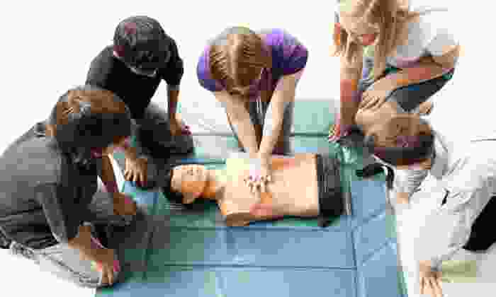 MichiganCPRTraining.com - Novi: CPR and AED Training for One or Two from MichiganCPRTraining.com (Up to 54% Off)