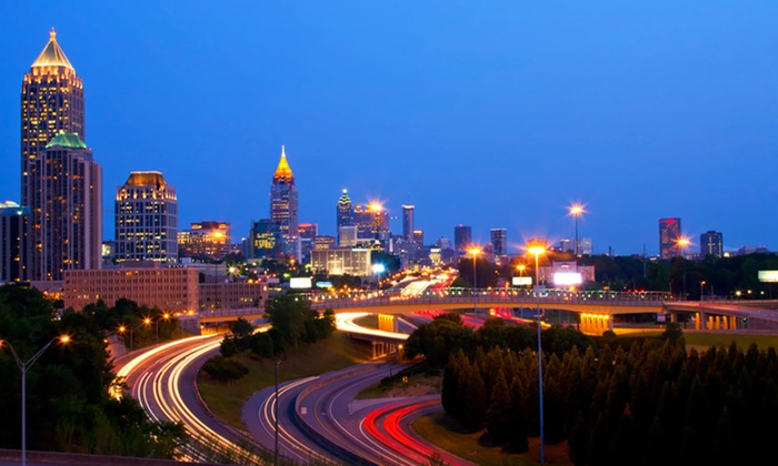null - Birmingham: Stay with Complimentary WiFi at Wyndham Atlanta Galleria in Atlanta, GA