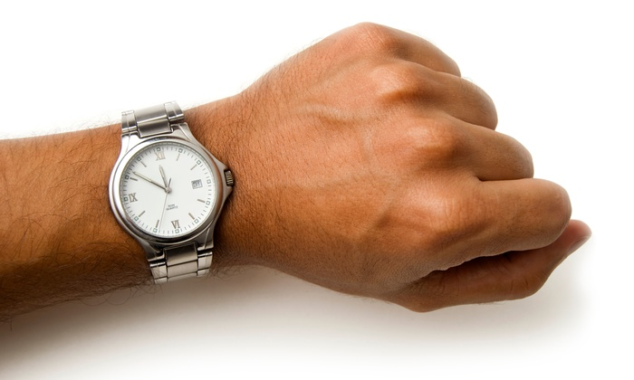 Time To Time, Inc - Downtown Miami: $49 for $110 Worth for Gebo Watches