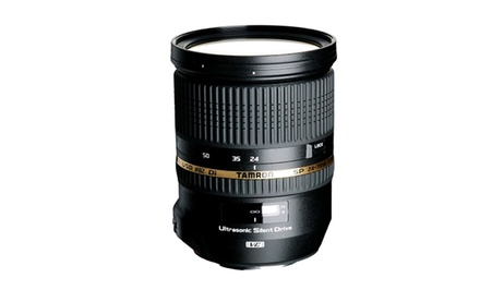 Tamron 24–70mm Lens for Canon, Nikon, or Sony Cameras