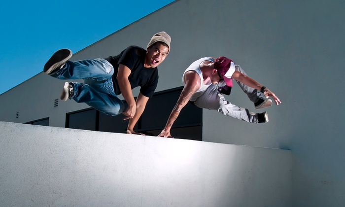 Vault PK - Old Torrance Neighborhood: One or Three Visits to Parkour and Ninja Warrior Gym for Kids and Adults, Plus One-Time Registration Fee at Vault PK (Up to 67% Off)
