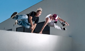 Vault PK: One or Three Visits to Parkour and Ninja Warrior Gym for Kids and Adults, Plus One-Time Registration Fee at Vault PK (Up to 67% Off)