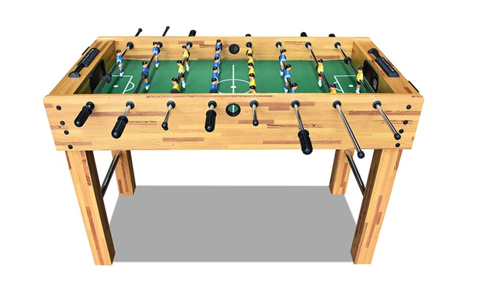 Four Foot Wooden Foosball Table | Groupon Goods