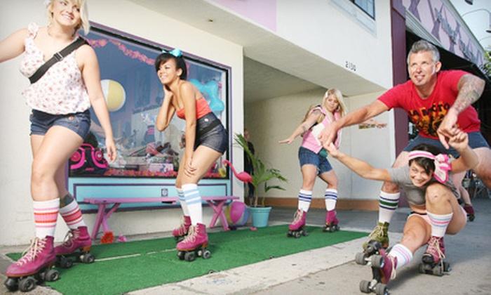 Moxi Roller Skates - Rose Park,Alamitos Beach: $10 Toward Skates, Accessories, or Classes