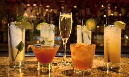 Cocktails, Beer, and Wine for Two or Four at Luca's Lounge (50% Off)