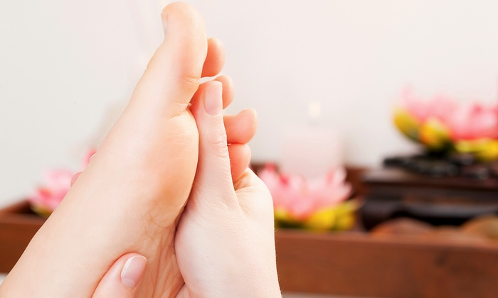 Manual On Myo Aroma Spa - Williston Park: 30 or 60 Minutes of Foot Reflexology with Aromatherapy for One or Two at Manual On Myo Aroma Spa (Up to 67% Off)