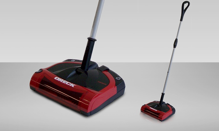 89 99 For An Oreck Rechargeable Cordless Sweeper Groupon