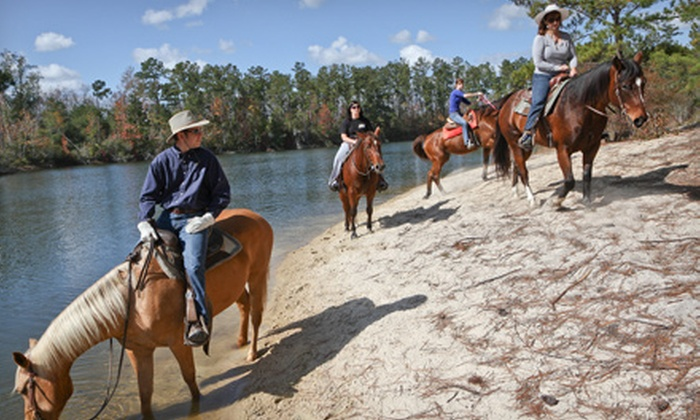 Splendor Farms - Bush, LA: $49 for a Two-Hour Trail Ride for Two at Splendor Farms ($150 Value)
