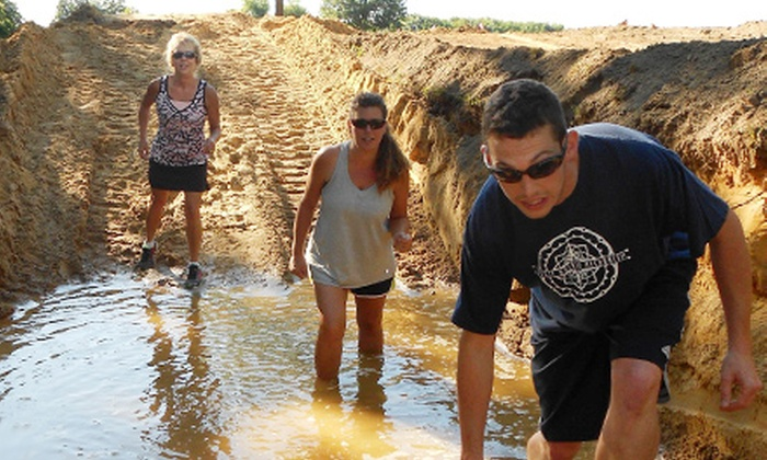 The Mud Dog Challenge - Toledo: The Mud Dog Challenge Obstacle-Course Race for Oneon Saturday, November 2 (57% Off)