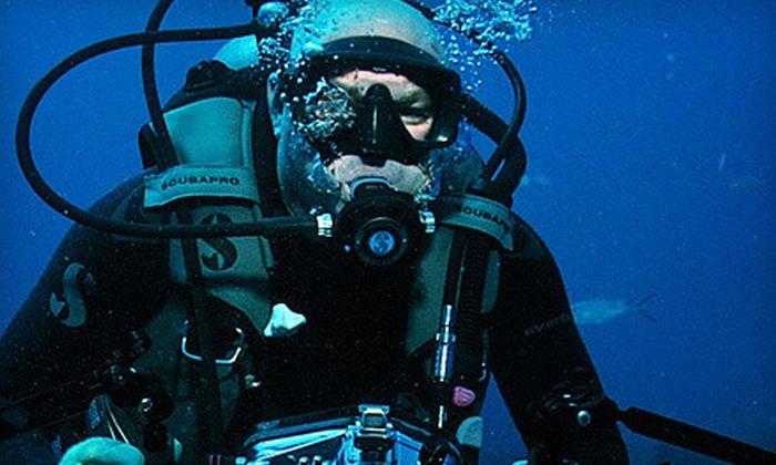 Jupiter Dive Center - Jupiter: Regular or Advanced PADI Open-Water-Dive Certification Course at Jupiter Dive Center (Up to 58% Off)