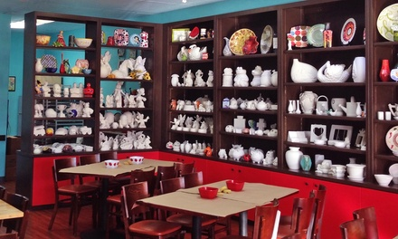 $12 for $20 Worth of Pottery Painting at Pottery Magic Modesto
