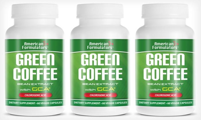 Green Coffee Bean Supplements Groupon Goods