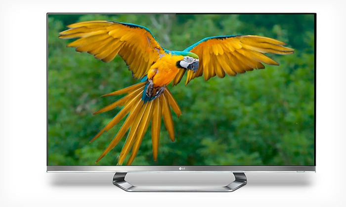 """LG 55"""" LED 1080p 240 Hz Smart 3-D HDTV: $1,449.99 for an LG 55"""" 3-D LED HDTV with Six Pairs of 3-D Glasses ($2,699.99 List Price). Free Shipping and Returns."""