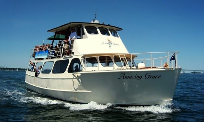 Oldport Marine Services - Newport: One-Hour Weekday or Weekend Harbor Tour for Two from Oldport Marine Harbor Tours (Up to 39% Off)