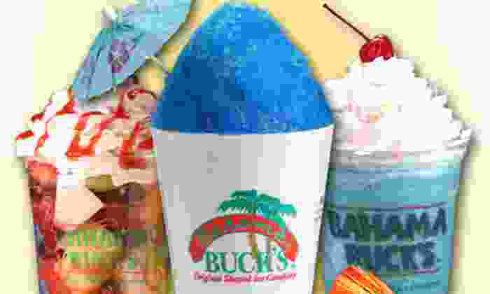Bahama Buck's - Spring Valley: Three or Six Regular Shaved Ices, One Party Pack, or $10 for $20 Worth of Shaved Ice at Bahama Buck's (Up to Half Off)