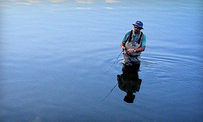 Lower Lake Ranch - Pine Junction Area: Half-, Full-, or Two-Day Fly-Fishing Excursion for One or Two at Lower Lake Ranch in Pine (Up to 70% Off)