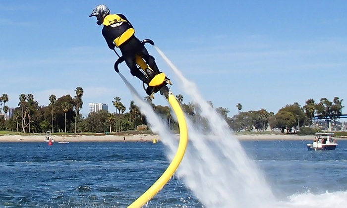 SoCal Jetovator - Santee: One 40-Minute Introductory Hydro-Jet Flight on Saturday or Sunday at SoCal Jetovator (Up to 39% Off)
