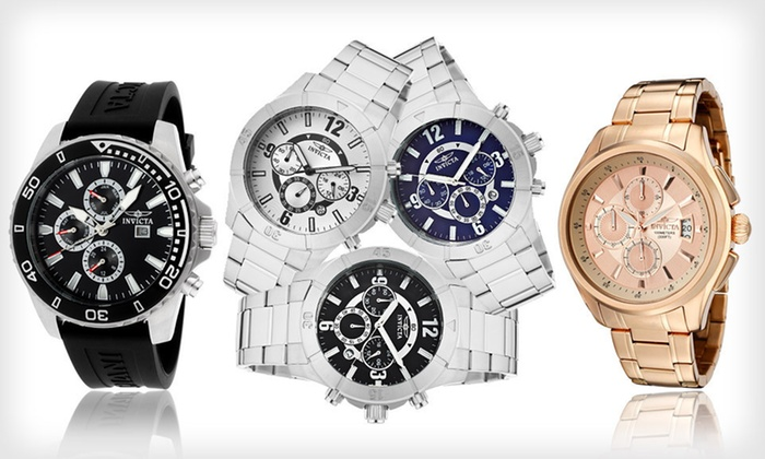 Men's and Women's Invicta Watches: Men's and Women's Invicta Specialty Watches (Up to 90% Off). 13 Styles Available. Free Shipping and Free Returns.