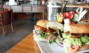 T-Deli : $25 for Deli Sandwiches for Two with Salad and Drinks at T-Deli (Up to 30% Off)