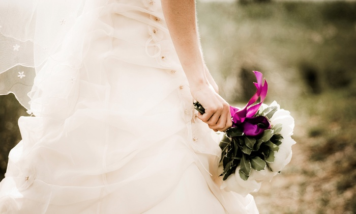A Wedding Chapel in Las Vegas - John S. Park: Wedding Ceremony with Bouquet and Optional Gown and Tux Rental at A Wedding Chapel in Las Vegas (50% Off)