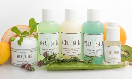 All-Natural Skincare Products at VERABELLA Skin Therapy Spa (Up to 45% Off)