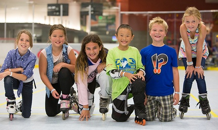 90 Minutes of Inline Skating with Rentals at Silver Creek Sportsplex (Up to 55% Off)