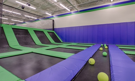 60-Minute Jumping Sessions with Optional 6D Motion-Theatre Ride at Launching Pad Trampoline Park (Up to 39% Off)