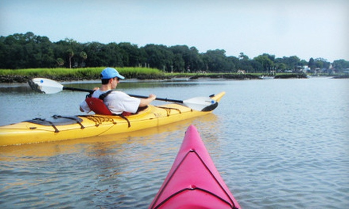 Marshgrass Adventures - Bluffton: Two-Hour Kayak Tour of Hilton Head Island for Two, Four, or Six from Marshgrass Adventures (Up to 60% Off)