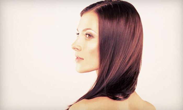 Russell Howerton at Versi Salon & Spa - Alamo Heights: $99 for a Brazilian Blowout Treatment from Russell Howerton at Versi Salon & Spa ($300 Value)