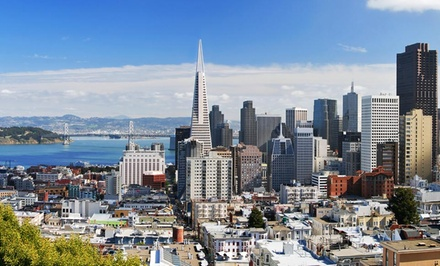 groupon daily deal - Stay at Park Central San Francisco, with Dates into May