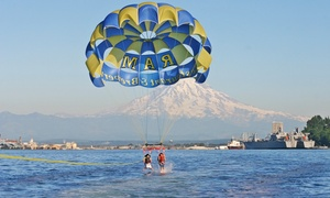 Pacific Parasail: Parasailing Experience for One or Two with 25-Picture SD Card from Pacific Parasail (40% Off)
