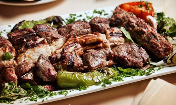 Arabian Nights Restaurant - Mission: Mediterranean Cuisine for Two or Four at Arabian Nights Restaurant (Up to 58% Off)