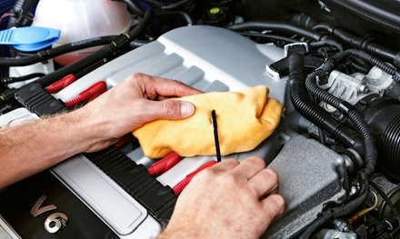 $38 for Complete One-Year Auto Maintenance Package from Car Care Deals ($309.85 value)