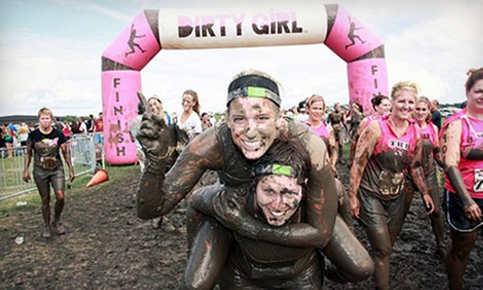 Dirty Girl Mud Run - San Francisco: 5K Entry for One, Two, or Four Women to Dirty Girl Mud Run on Saturday, October 26 (Up to 65% Off)