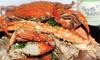 Crabaholic - San Jose: $12 for $20 Worth of Cajun Seafood and Drinks at Crabaholic in San Jose