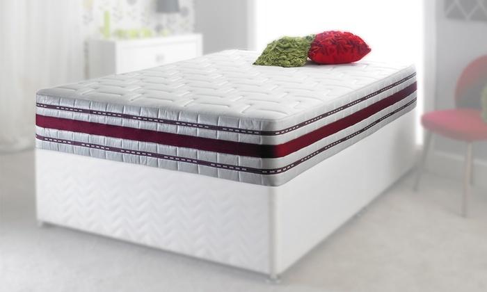 groupon goods global gmbh airflow 3d pocket sprung mattress double u20ac21999