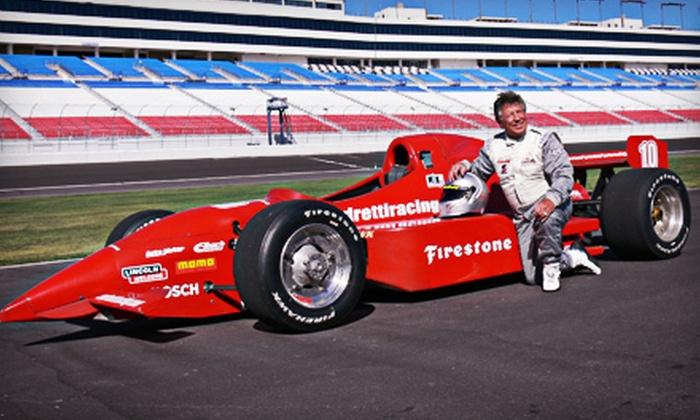 Mario Andretti Racing Experience - Atlanta Motor Speedway: Three-Lap or Three-Hour Racing Experience from Mario Andretti Racing Experience (Up to 51% Off)